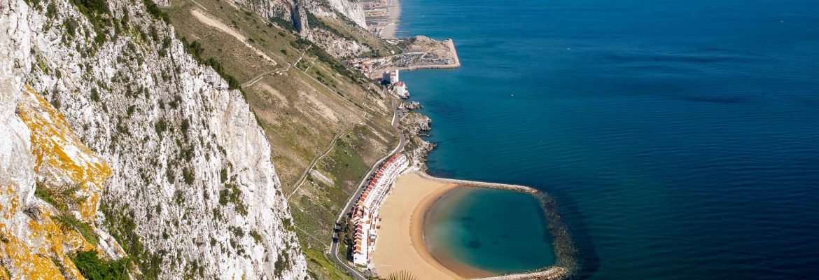 Sandy Bay Beach, Gibraltar