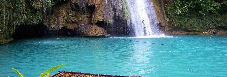 Kawasan Falls Canyoning,Matutinao, Badian, Cebu, Philippines