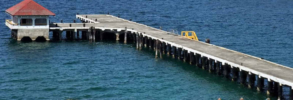 Engineer's Dock, Cavite City, Corregidor Island, Southern Luzon, Philippines