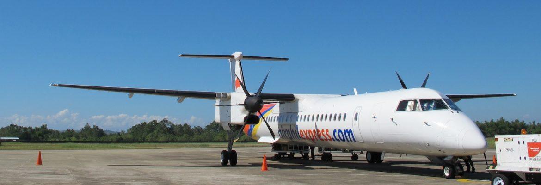 Tuguegarao Airport for Flight to Basco and Sabatan Islands,Cagayan, Philippines