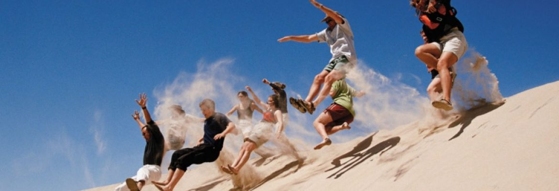 Paoay Sand Dunes Adventures, Ilocos Norte, Luzon, Philippines