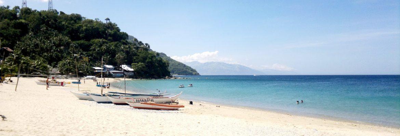 Puerto Galera White Beach,Oriental Mindoro, Philippines