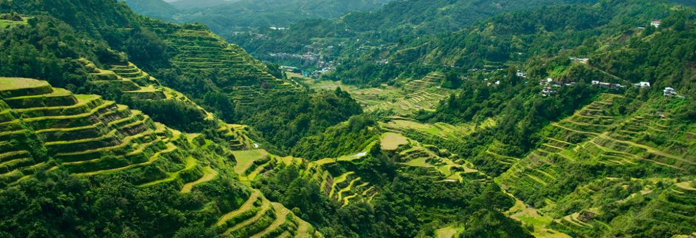 Banaue Rice Terraces,Ifugao, Philippines