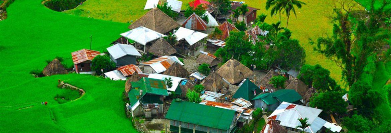 Bangaan Villiage, Banaue, Ifugao, Luxon, Philippines
