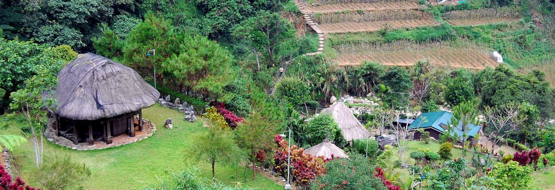 Tam-awan Village,Benguet, Luzon, Philippines