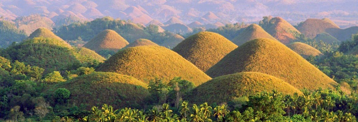 Chocolate Hills Complex, Bohol, Philippines