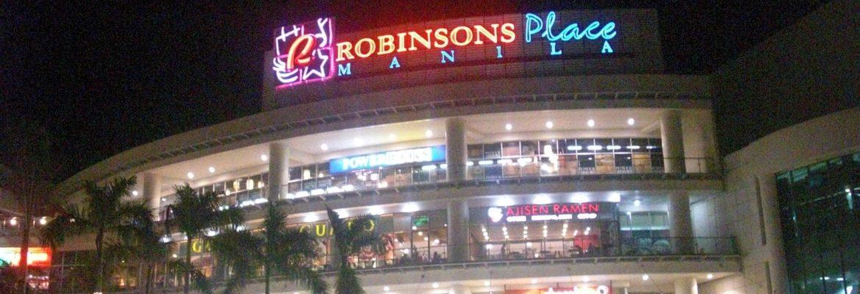 Robinsons Place Manila, Manila, Philippines