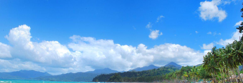 Sabang Beach Walk,Puerto Galera, Oriental Mindoro, Philippines
