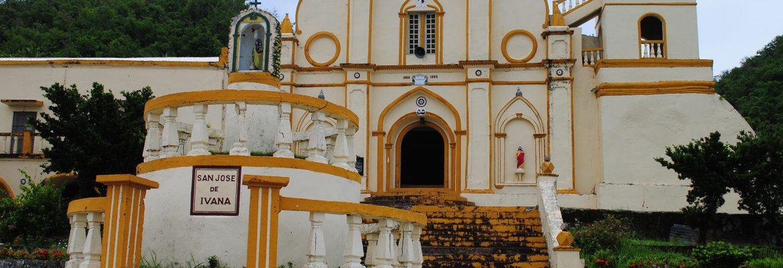 San Jose de Obrero Church in Ivana, Luzen, Philippines