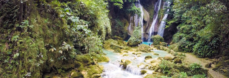 Magaso Falls,Barangay Oringao, Kabankalan, Negros Occidental, Philippines