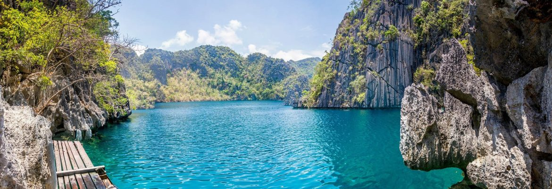Baracuda Lake,Coron, Palawan, Filippinerna, Coron, Palawan, Philippines
