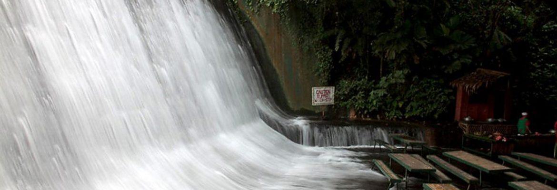 Lebasin Falls,Quezon, South Luzon, Philippines