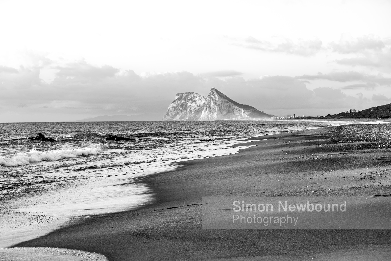 Rock of gibraltar 1 large 120cm high quality 300 dpi black and white print